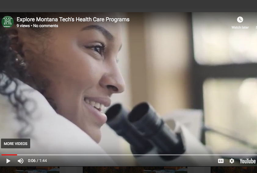 Montana Tech's Health Care Programs